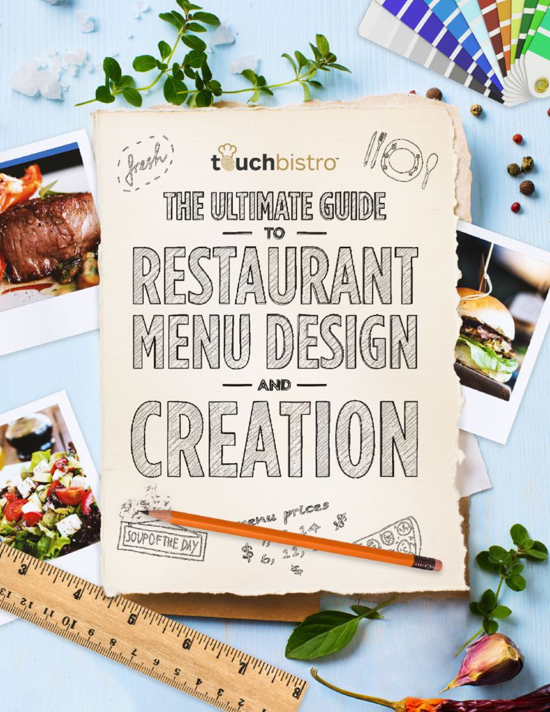 The ultimate guide to restaurant menu design creation