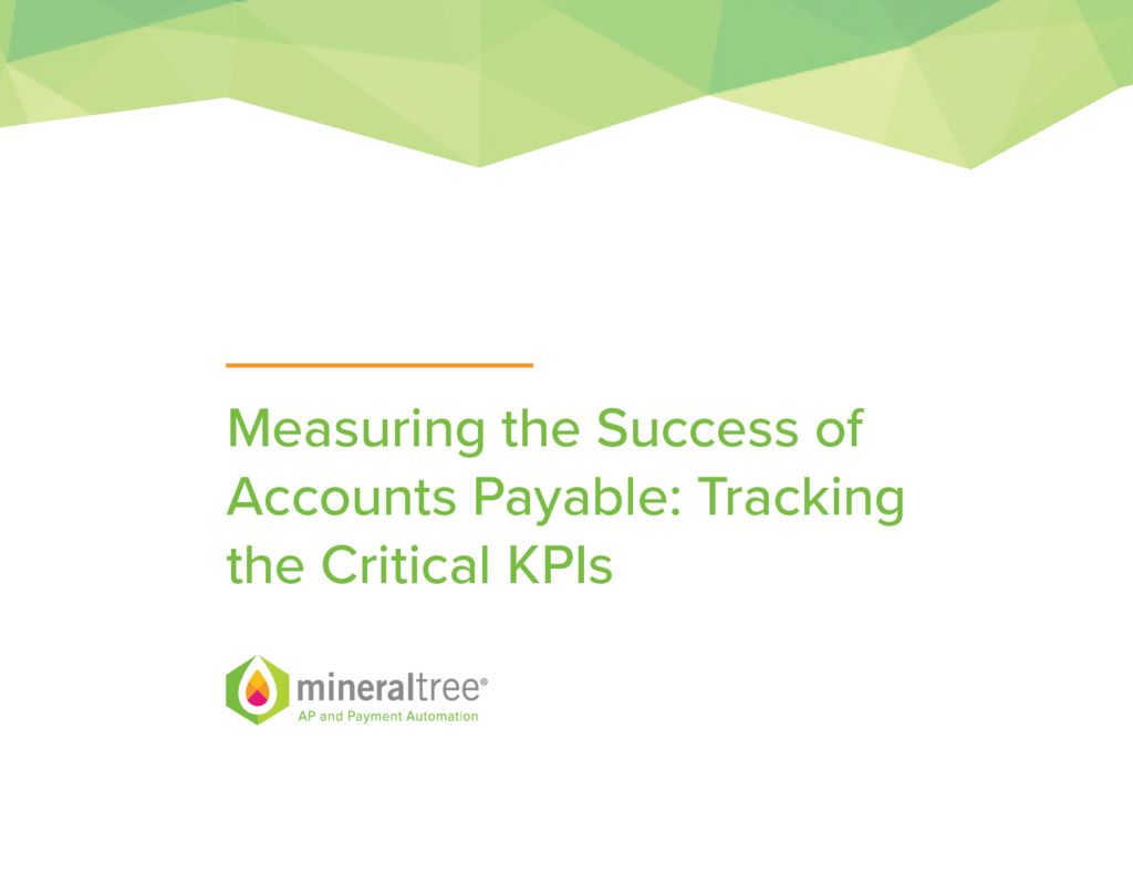 measuring the success of accounts payable tracking the critical